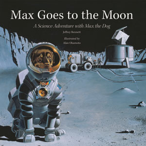 cover art for Max Goes to the Moon